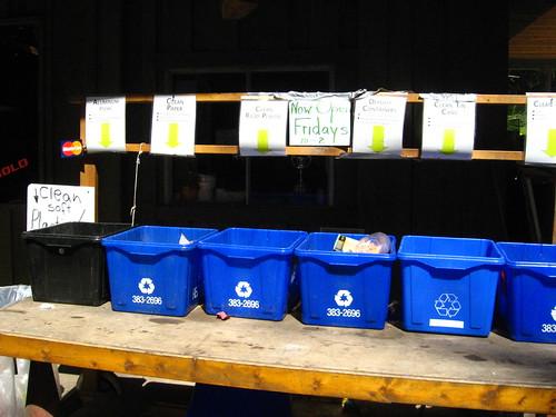 recycling depot!