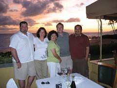 The Maui Five: Steve, Jen, Doris, Tim and James. (07/05/07)
