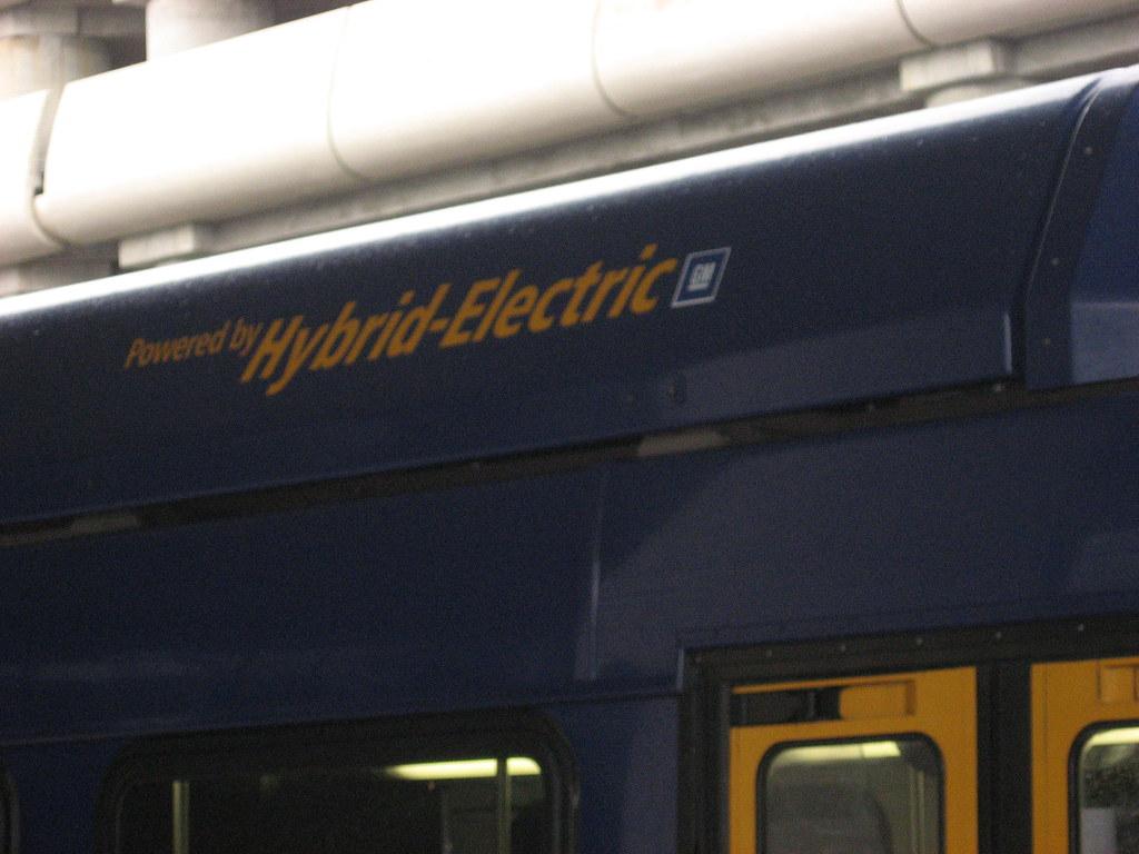 Hybrid-Electric Bus