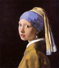 Johannes Vermeer _ Girl with the pearl earring (Fernanda2727 ( thank YOU friends! )) Tags: holland film girl dutch painting famous delft canvas painter vermeer colinfirth mauritshuis girlwiththepearlearring joannesvermeer