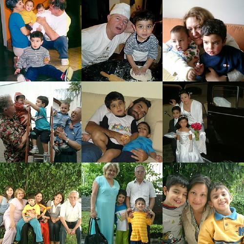 avós e tios