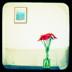 Hockney and flowers - by Kat...