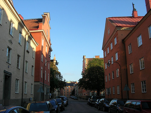Houses in Falugatan 6.