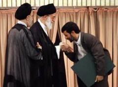 ahmadi nejad kissed  the supreme leader's hand , because in iran president is 2nd power (high_court) Tags: sex democracy iran islam  democrat   zan irani seks   emam rahbar     azad khamenei    khomeini zendan sepah    eadam  entezami dokhtar      eslami ezdevaj mollah eslam   akhond  pasdar      sigheh   jslami     mullahh