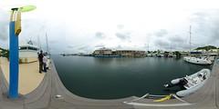 Marina Port-la-Royale (gadl) Tags: panorama marina boats boat saintmartin 21 tripod gimp tiana 360 360x180 marigot hugin enblend equirectangular guno 303sph portlaroyale marinaportlaroyale