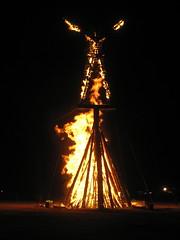 The Risen Man Burns - photo taken by Morleyroarly