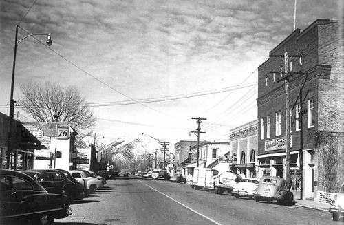 Downtown Gardnerville, Ca 1940s