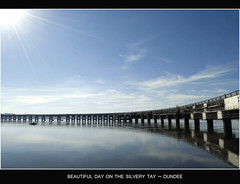 Beautiful Day on the Silvery Tay ~  Dundee (Magdalen Green Photography) Tags: bridge blue river scotland bravo pretty riverside dundee scottish tayside silverytay superbmasterpiece