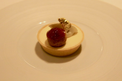 French Laundry - lemon chiffon tart