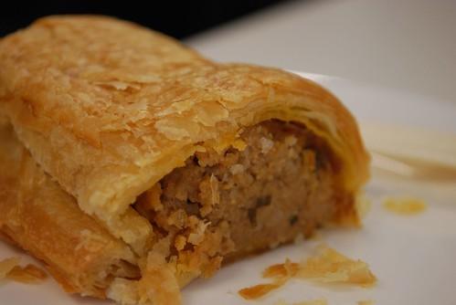 Insides - Sausage Roll - Le Croissant de Halles AUD2.80