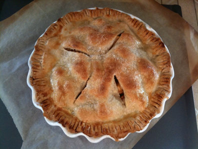Apple Pie, fresh out of the oven