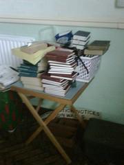 Hymn books, Westbourne (Wesleyan) Methodist Ch...