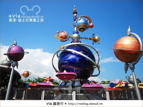 【香港自由行】跟著via玩香港(1)~爆走香港迪士尼樂園26