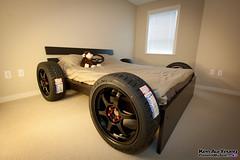 Race Car Bed for Adults (PoweredByAloe) Tags: car wheel race racecar work monkey bed momo steering adult nuts driver ssr tuner jdm falken lug azenis rt615