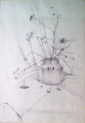 Still-life 2000 Pencil on paper