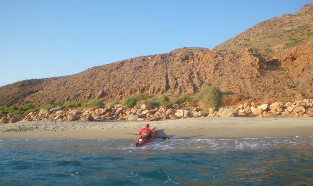 Cabo de Gata en kayak 532