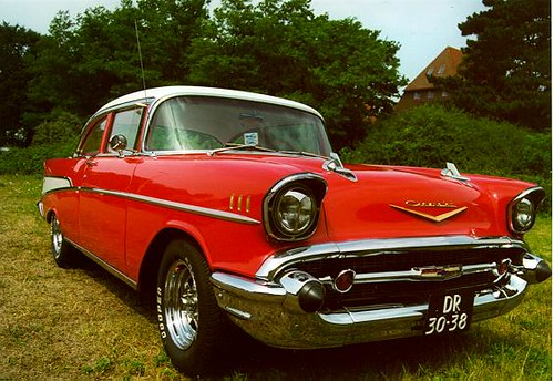 Dominique Scholtes chevrolet bel air