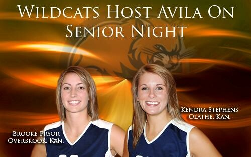Wildcats set to host Avila on Senior Night