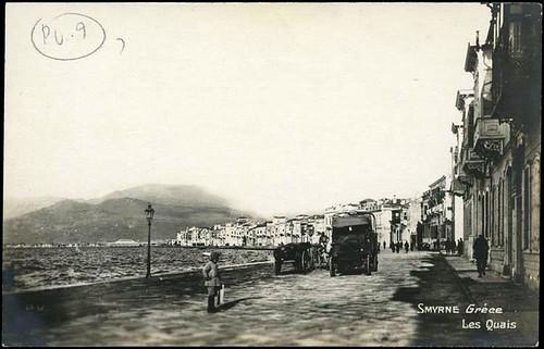 Karpostallarda yangından önce İzmir, Kordon