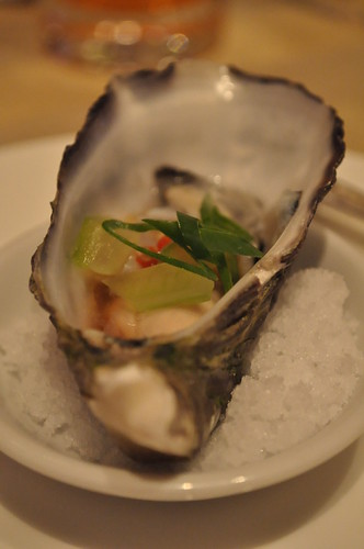 oyster canape