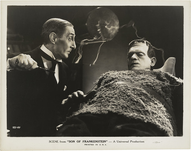 Son of Frankenstein (Universal, 1939) 12