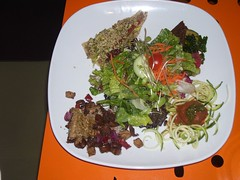 Raw Food Sample Plate (veganbackpacker) Tags: food toronto restaurant salad vegan raw live pasta pizza rawfood livefoodbar
