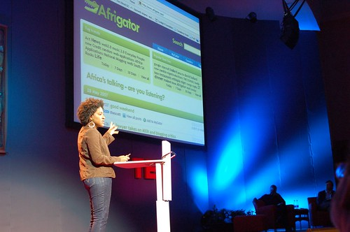 Afrigator at TED