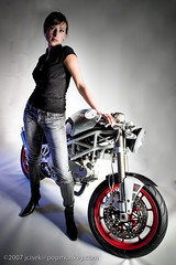 grace (yulek) Tags: girl monster digital studio motorcycles motorcycle ducati 2007 yulek popmonkey cisek flightcycle