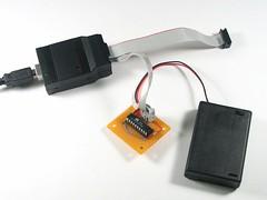 USBtinyISP Kit & target board