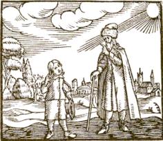 maestro y alumna siglo xvII