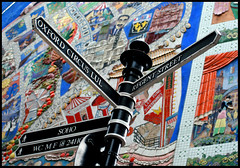 I'm going to... (Sartori Simone) Tags: street uk greatbritain england london geotagged europa europe strada soho londres carnabystreet londra thewall segnale inghilterra ilmuro allrightsreserved simonesartori