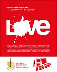 flyer-love - by Ana V. Francés
