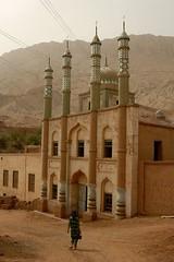 DSC_1099_tuyuguo_mosque (kdriese) Tags: china church muslim religion mosque uighur xinjiang silkroad turpan taklamakan turfan nikond200 may2007 kendriese tuyuguo