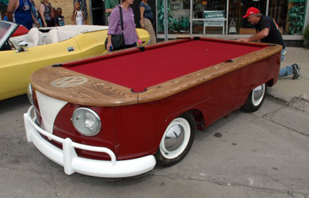 vw-bus-billiards Table