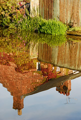 Beside the Canal (Simon Sait) Tags: colour water reflections rust iron cottage shropshireunioncanal chester boughton aplusphoto diamondclassphotographer flickrdiamond photofaceoffwinner pfogold