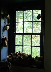 In The Basketweaver's House (Trish Mayo) Tags: newyork window baskets statenisland richmondtown