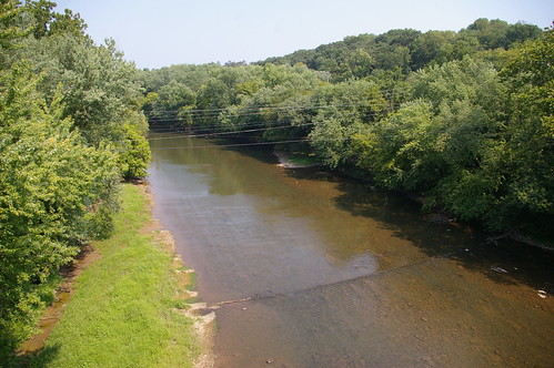 Monocacy River, as seen from the old Route 40 bridge