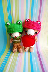 the couple (l780717) Tags: amigurumi thecouple