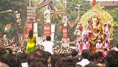Lalbaug cha Raja 07 _lalbaug Ganesh Utsav Visarajan 07 (3) (tushark) Tags: ganesh utsav cha raja ganpati lalbaug visarajan