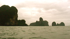 Boat fro Ao Nang to Railay beach, Krabbi