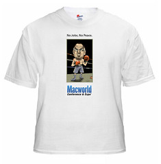 Steve Jobs Macworld 2009 T-Shirt (Photo Giddy) Tags: mac jobs humor tshirt applestore spoof macworld stevejob macworld2009