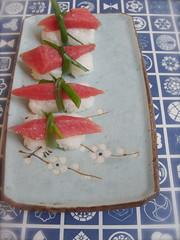 Bluefin Tuna Sushi (bunbunlife) Tags: sushi homemade fatty bluefin tuna