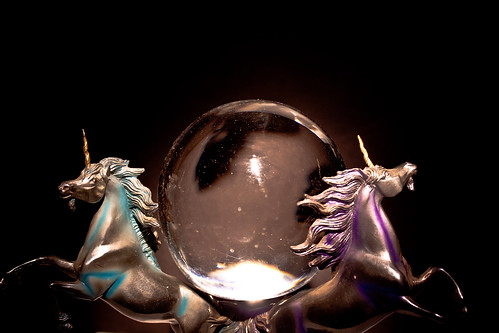 Unicorns and Crystal Ball