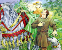 fairy1Thomas meeting the Queen of the Fairies