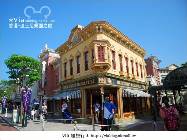【香港自由行】跟著via玩香港(1)~爆走香港迪士尼樂園16