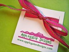 Applegator Designs - Ribbon Tags