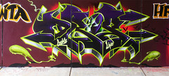 FRESQUE SPAWN (DROP HPC-ANC-TWP) Tags: comics graffiti tag graf drop spawn anc hpc