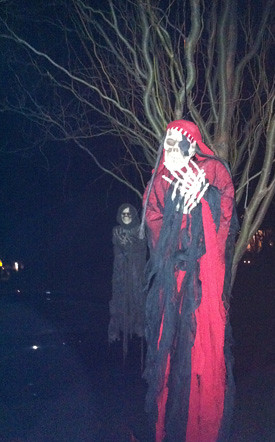 Hightstown Halloween Display 2