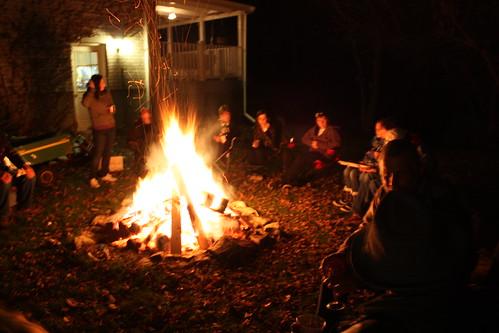 Bonfire Night Life At Cloverhill
