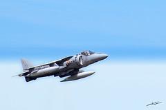 AV-8B Harrier II (Xicu) Tags: fly aircraft air asturias douglas gijon aire avion exibition harrier vuelo mcdonnell av8b exibicion anawesomeshot anawesomesho ltytr1